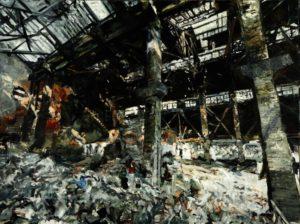 The Lost Glory Jingdezhen series NO.19 150x200cm oil on canvas 2009