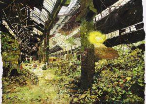The Lost Glory Jingdezhen series NO.21 150x200cm oil on canvas 2009