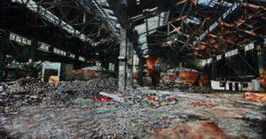 The Lost Glory Jingdezhen series No.1 295x595cm oil on canvas 2008