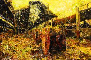The Lost Glory Jingdezhen series No.25 160x95cm oil on canvas 2009
