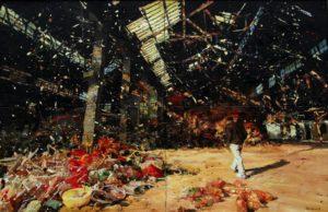 The Lost Glory Jingdezhen series No.27 200x170cm oil on canvas 2009