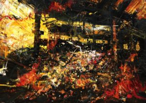 The Lost Glory Jingdezhen series No.30 113x162cm oil on canvas 2009