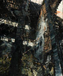The Lost Glory Jingdezhen series No.35 156x130cm oil on canvas 2011
