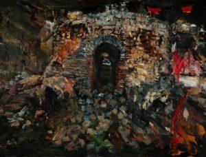The Lost Glory Jingdezhen series No.37 60x80cm oil on canvas 2011