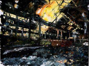 The Lost Glory Jingdezhen series No.38 60x80cm oil on canvas 2011