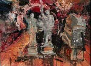 The Lost Glory Jingdezhen series No.39 70x95cm oil on canvas 2011