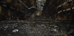 The Lost Glory Jingdezhen series No.4 300x600cmoil on canvas 2009