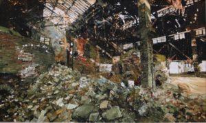 The Lost Glory Jingdezhen series No.36 120x200cm oil on canvas 2011