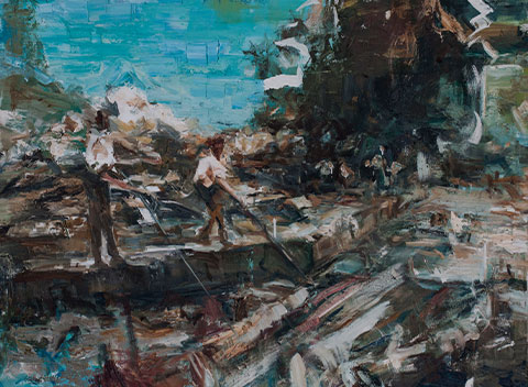 Wang Jixin Im Fluss Exhibition